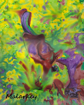 Camouflage. Mixed Media. Brandi Malarkey, artist. ItsAllMalarkey.com