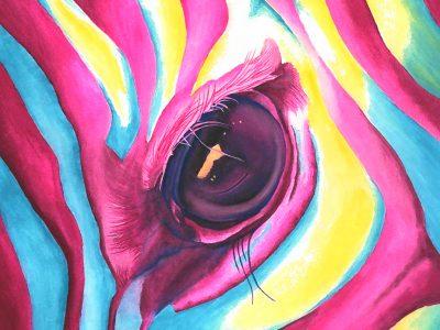 Of Another Color. Gouache on paper 10×12.5 Brandi Malarkey, Artist. ItsAllMalarkey.com
