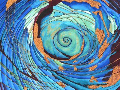 Renewed Gouache on paper 9.5×12 Brandi Malarkey, Artist. ItsAllMalarkey.com